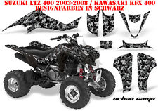 Amr racing decoración Graphic kit ATV suzuki ltz & Kawasaki KFX Urban camo B