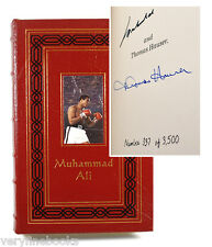 Easton Press MUHAMMAD ALI His Life Times Signed Limited Edition Leather Bound
