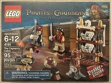 LEGO The Captain's Cabin (4191) - Pirates of the Caribbean - Jack Sparrow