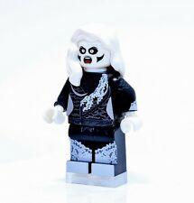 A1311 Lego CUSTOM PRINTED cw Supergirl INSPIRED SILVER BANSHEE MINIFIG Livewire