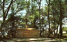 Estados unidos-florida-st. augustine-rustic altar at Mission of nombre de Dios