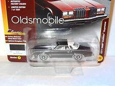 JL CLASSIC GOLD EBONY BLACK 1977 OLDS CUTLASS SUPREME 2017 REL 1 VERSION A LTD