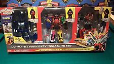 Power Rangers Super Megaforce Ultimate Legendary Q rex turbo falcon Megazord SET