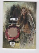 Walking Dead season 5 walker costume relic card (c) girl