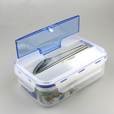 Portable Microwave Bento Lunch Box with Soup Bowl Spoon Food Container Office
