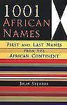 1001 African Names: First and Last Names from the African Continent-ExLibrary