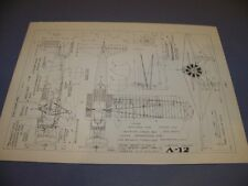 VINTAGE..CONSOLIDATED A-11 & CURTISS A-12 ..HISTORY/DETAILS/-VIEWS..RARE! (647H)