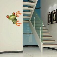 Funny 3D Crazy Frog Truck Toilet Window Wall Decal Sticker Car