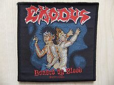 Aufnäher - Patch - Exodus - Bonded By Blood - Overkill - Testament - Toxik