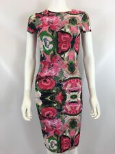The Bags Los Angeles Women's Pink Multi Color Dress Sz M I617