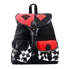 DC Comics Harley Quinn Suicide Rucksack Squad Bag Knapsack Backpack 14 x 17in