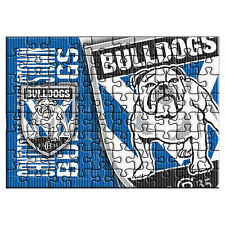 Canterbury Bulldogs NRL Logo 48 Piece Jigsaw Puzzle Board Game Birthday Gift