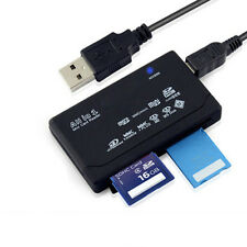 All in One External USB Memory Card Reader SD SDHC Mini Micro M2 MMC XD CF MS