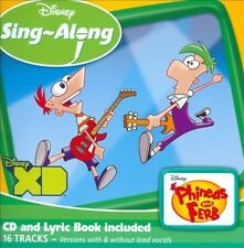 DISNEY SING-ALONG: PHINEAS AND FERB NEW CD