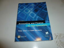 Accounting and Finance for Non-Specialists - Paper back Book