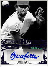 2013 SPORTS HEROES AUTO: BRUCE SUTTER #1/1 OF ONE AUTOGRAPH 6x ALL-STAR/CY YOUNG