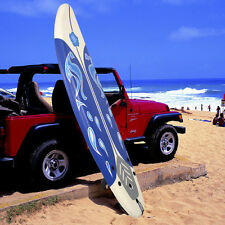 Goplus 6' Surfboard Surf Foamie Boards Surfing Beach Ocean Body Boarding White