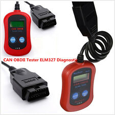 MS300 Fault Code Reader Scanner Diagnostic OBD2/ELM327 Engine Fault LCD display