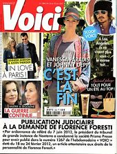 Mag 2012: VANESSA PARADIS_JOHNNY DEPP_JENNIFER ANISTON_DOVE ATTIA_MISS FRANCE