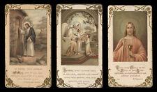 lotto santini-holy cards lot-lot images pieuses-konvolut heiligenbildichen n.58