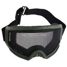 Hunting Airsoft Tactical Eyes Protection Metal Mesh Pinhole Glasses Goggle hv2n
