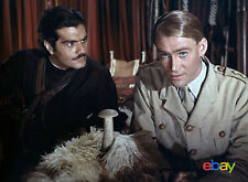 PHOTO LAWRENCE D'ARABIE - PETER O'TOOLE & OMAR SHARIF /11X15 CM #1