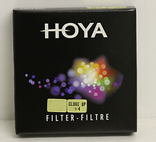 Genuine Hoya 72mm Close Up +4 Filter Brand New for Macro Photography