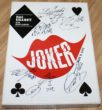 DAL SHABET DALSHABET Joker Is Alive 8TH MINI REAL SIGNED AUTOGRAPHED PROMO CD