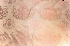 "100% SILK DAMASK ITALIAN FABRIC PRIMROSE COLOR 54"" UPHOLSTERY P71502 BY THE YARD"