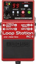 Boss RC-3  RC3 Compact Phrase Recorder Stereo Loop Pedal New