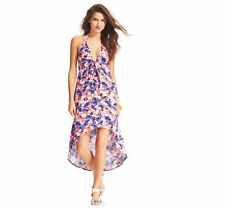 NWT Bar III Multi Colored Printed High Low Swimsuit Cover Up Dress Small S n04