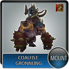 WORLD Of Warcraft Wow Mount ✯ coalfist gronnling ✯ tutti i server dell' Unione europea ✯