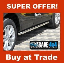 NISSAN QASHQAI 2014 SIDE BARS SPORTS SS001 STAINLESS STEEL 60MM OEM LOOK J11 SUV
