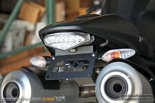 09-14 Ducati Monster 796 1100 Complete Fender Eliminator Kit + LED Plate Light