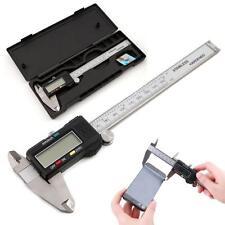 """6"""" 150mm Electronic LCD Digital Vernier Caliper Gauge Ruler Stainless Steel HOT"""
