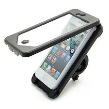 Waterproof Bike Bicycle Handlebar Mount Holder Case Cover for Apple iPhone 5 5S
