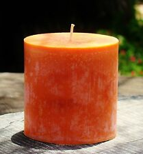 80hr WARM SUNFLOWERS Triple Scented Candle Floral Gifts FREE SHIPPING / POSTAGE