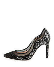NEW was £395! LK BENNETT 41EU:8UK:10.5US FAYE CRYSTAL EMBELLISHED COURT/PUMPS