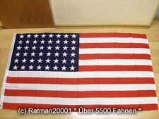 Fahnen Flagge USA Stars and Stripes 48 Sterne 90 x 150 cm
