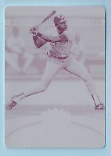 DAVE WINFIELD 2010 TRIPLE THREAD WHITE WHALE PRINTING PLATE 1/1