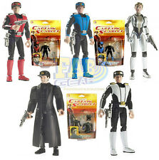 New Captain Scarlet Action Figure Set - 5 Figures  - Gerry Anderson