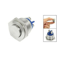 16mm High Round High Round Momentary Metal Push Button Switch PS
