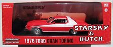 HOLLYWOOD 1976 FORD GRAND TORINO STARSKY & HUTCH 1:43 GREENLIGHT