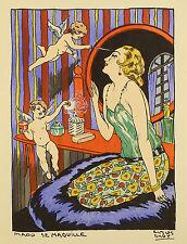 La journée de Mado. Mit 4 pochoir-kolorierten Tafeln. Art-Déco in Perfektion