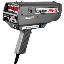 POLICE HANDHELD RADAR GUN KUSTOM HR-12 MOVING AND STATIONARY. FORKS BRACKET