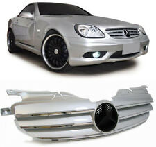 Sports SILVER grille front grill radiator grill for Mercedes SLK R170 from 1996