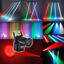 RGBW 1 x 15w LED Stage 4 in 1 Lighting Spin  Light Beam Spotlight Party/DJ/Disco
