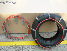 Snow Chains 4WD Ladder Pattern Heavy Duty Stock Clearance Size 255 - 260 - 265