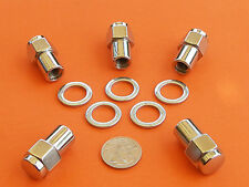 CHROME MAG WHEEL NUTS LEFT HAND PACK OF 5 SUIT CHRYSLER VALIANT + OTHERS