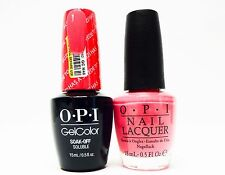 OPI GelColor Gel Color + Nail Polish Combo Suzi Has a Swede Tooth GCN46 + N46